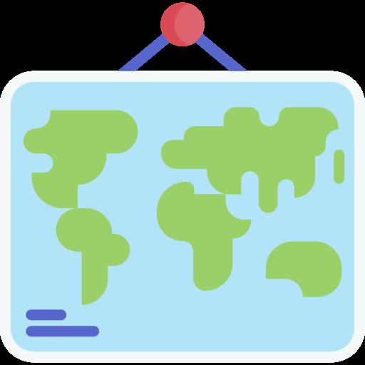 Med VPN slipper du geoblockeringar - bild på en världskarta.